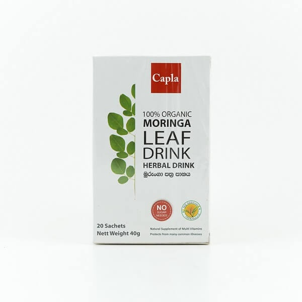 Capla Tea Organic Moringa Leaf 40G - in Sri Lanka