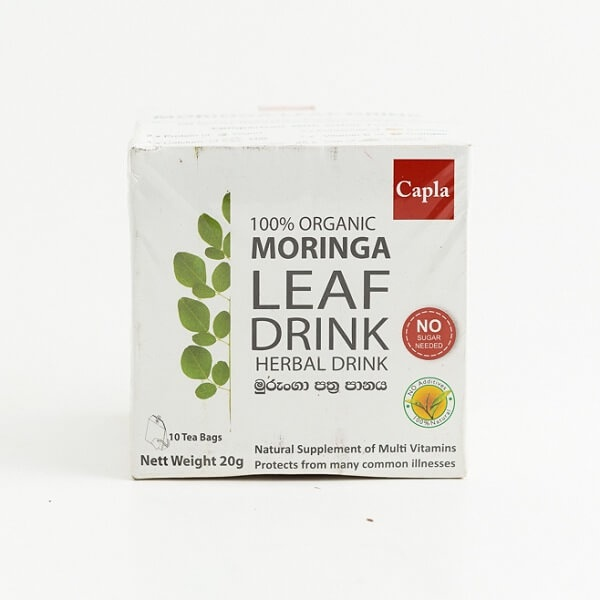 Capla Tea Organic Moringa Leaf 20G - CAPLA - Tea - in Sri Lanka