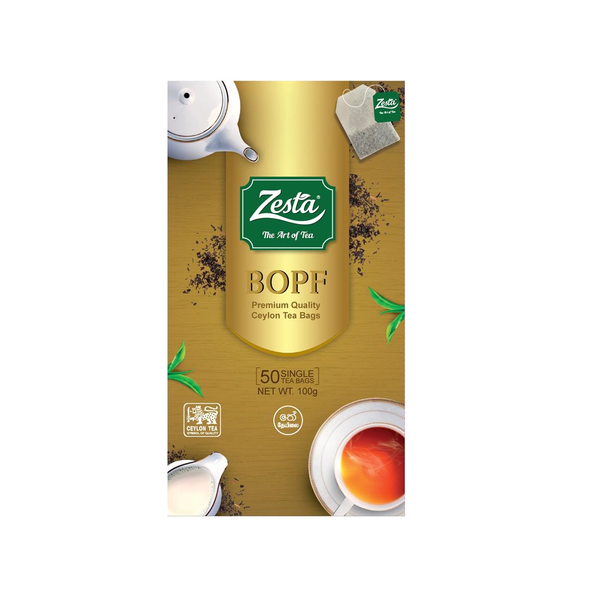 Zesta Tea 50s 100g - in Sri Lanka
