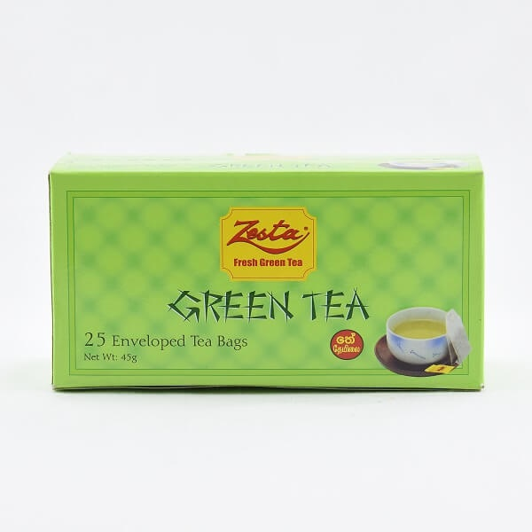 Zesta Green Tea 25s 50g - in Sri Lanka