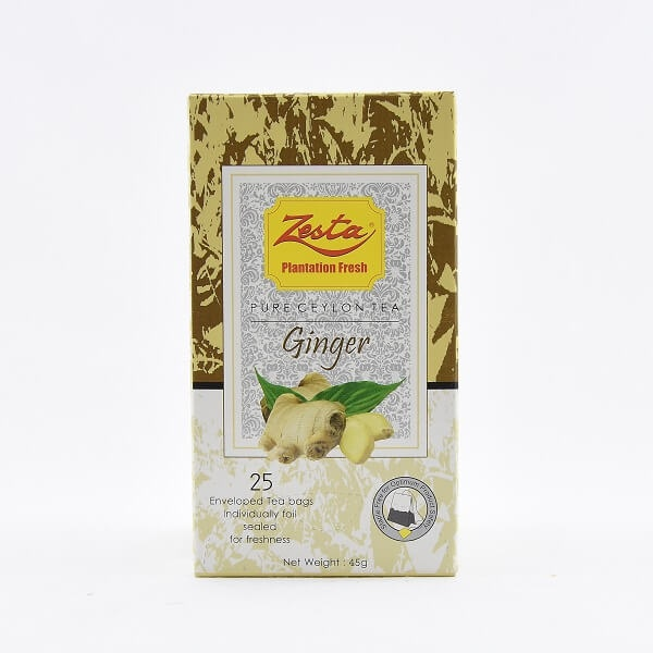 Zesta Ginger Tea 45g - in Sri Lanka