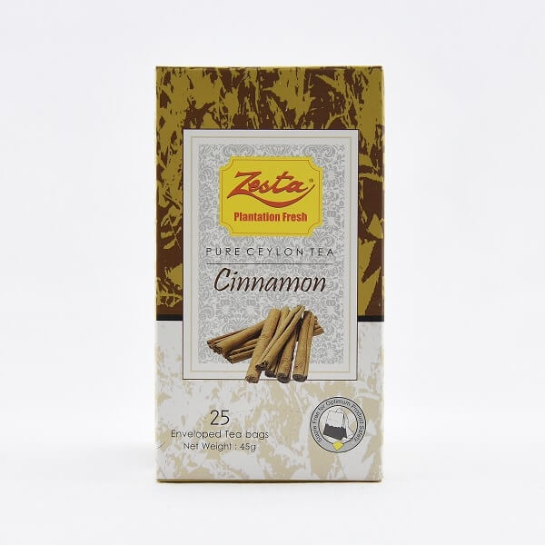 Zesta Flavoured Tea Cinnamon 45g - ZESTA - Tea - in Sri Lanka