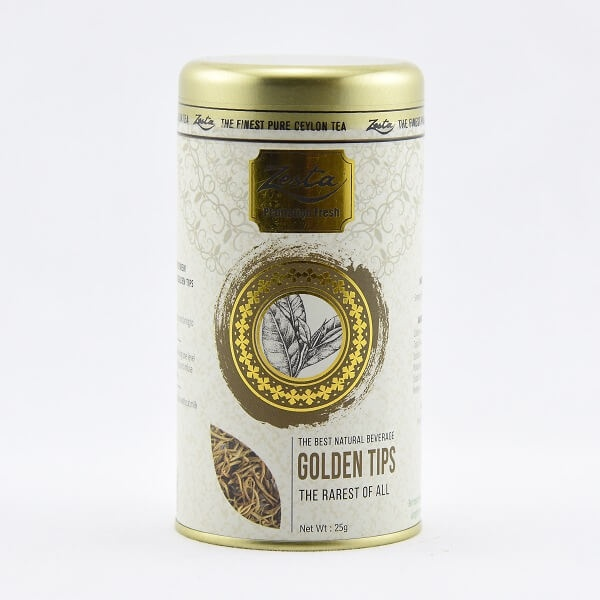 Zesta Tea Supreme Golden Tips Can 25g - ZESTA - Tea - in Sri Lanka