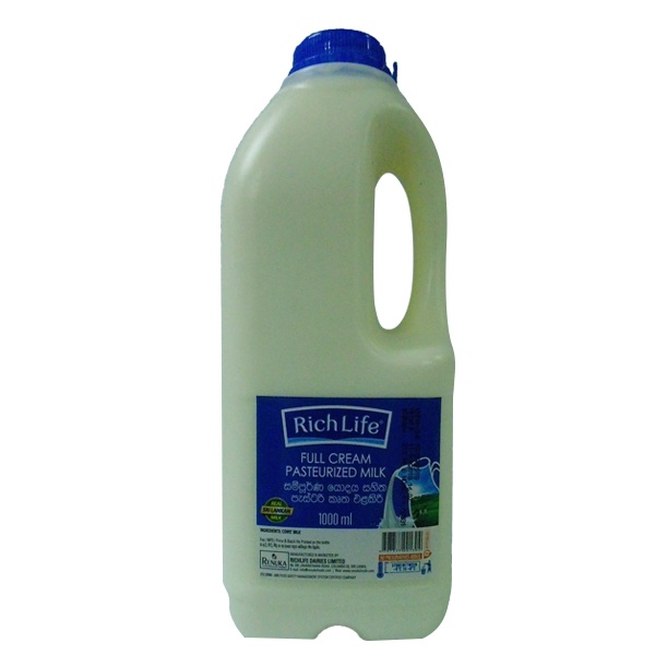 Richlife Pasteurized Milk 1L - in Sri Lanka