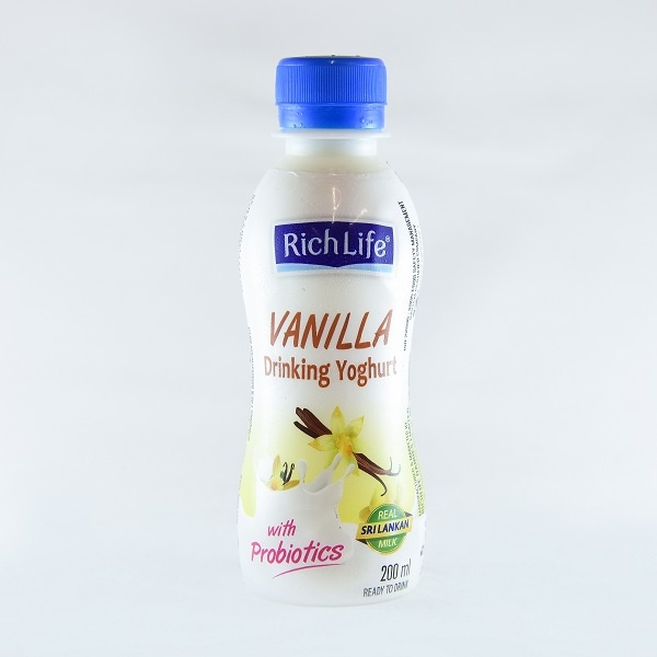 Richlife Drinking Yoghurt Vanilla 200ml - in Sri Lanka