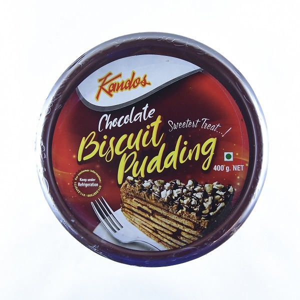 Kandos Dessert Biscuit Pudding Chocolate 400g - KANDOS - Desserts - in Sri Lanka