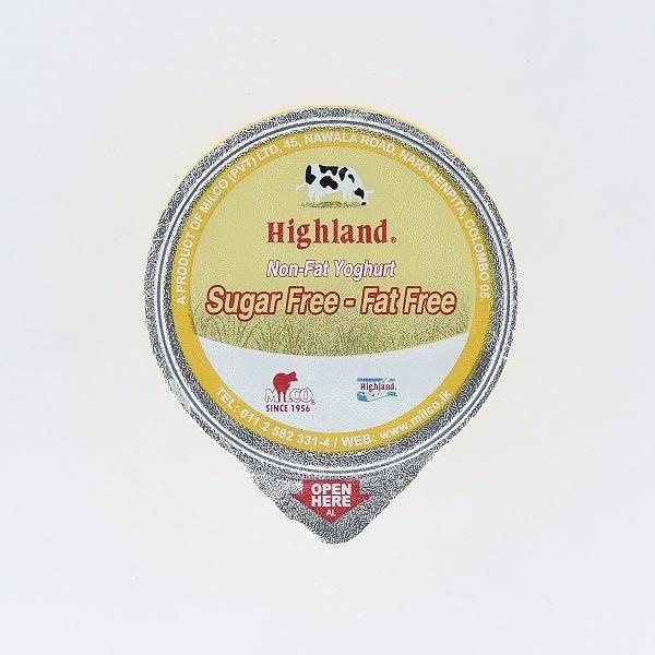Highland Yoghurt Non Fat 90g - HIGHLAND - Yogurt - in Sri Lanka