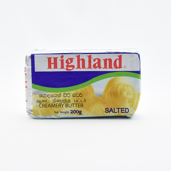 Highland Butter Salted 200G - in Sri Lanka
