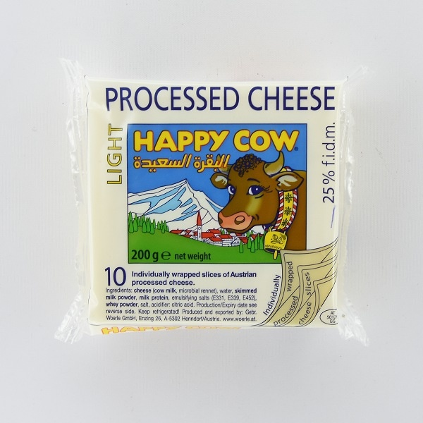 Happy Cow Cheese Diet Slices 200G - in Sri Lanka