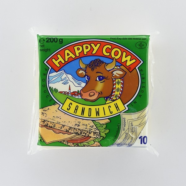 Happy Cow Cheese Sandwich Slices 200g - HAPPY COW - Cheese - in Sri Lanka