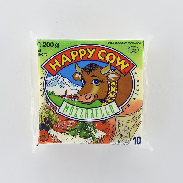 Happy Cow Cheese Mozzarella Slices 200g - in Sri Lanka