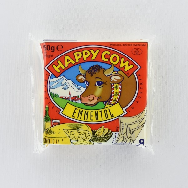 Happy Cow Cheese Emmenthal Slices 150g - HAPPY COW - Cheese - in Sri Lanka