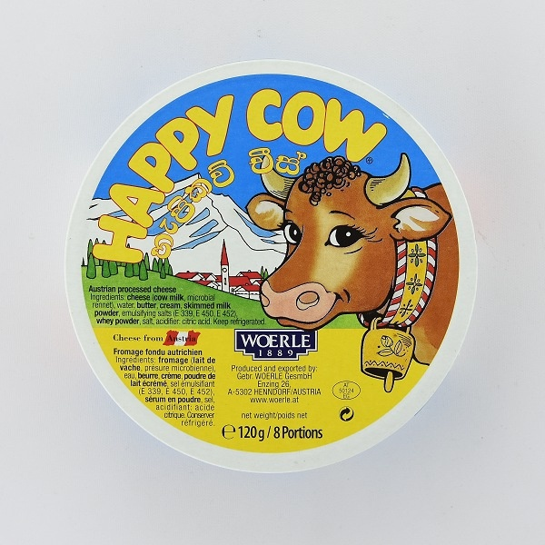 Happy Cow Cheese Wedges 120G - HAPPY COW - Cheese - in Sri Lanka