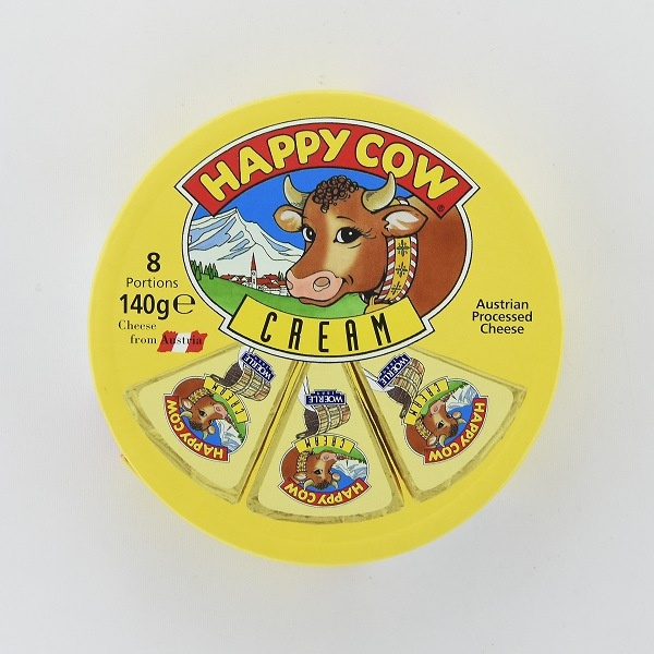 Happy Cow Cheese Cream Wedges 140G - HAPPY COW - Cheese - in Sri Lanka
