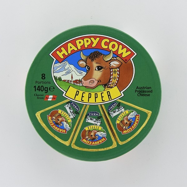 Happy Cow Cheese Pepper Wedges 140G - in Sri Lanka