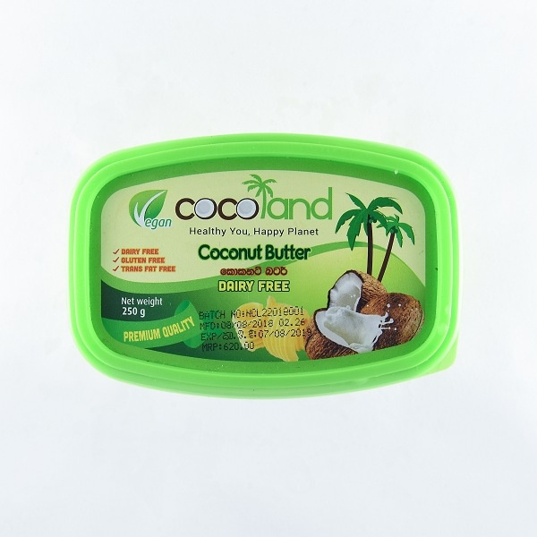 Cocoland Butter Coconut 250G - in Sri Lanka
