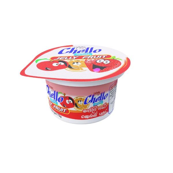 Chello Yoghurt Jelly Fruit 75G - CHELLO - Yogurt - in Sri Lanka