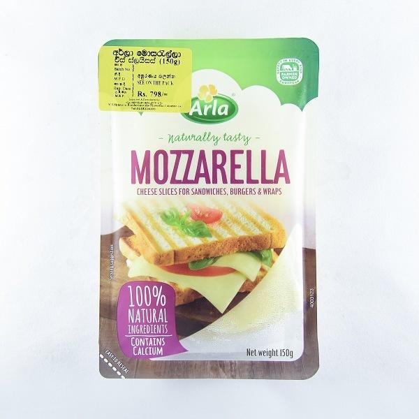 Arla Cheese Mozzarella Slices 150G - in Sri Lanka