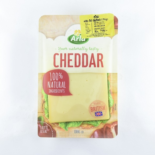 Arla Cheese Cheddar Slices 150G - ARLA - Cheese - in Sri Lanka