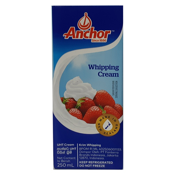 Anchor Cream Wipping 250Ml - in Sri Lanka