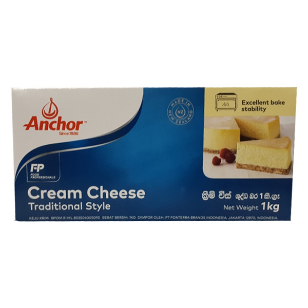 Anchor Cream Cheese 1Kg - in Sri Lanka