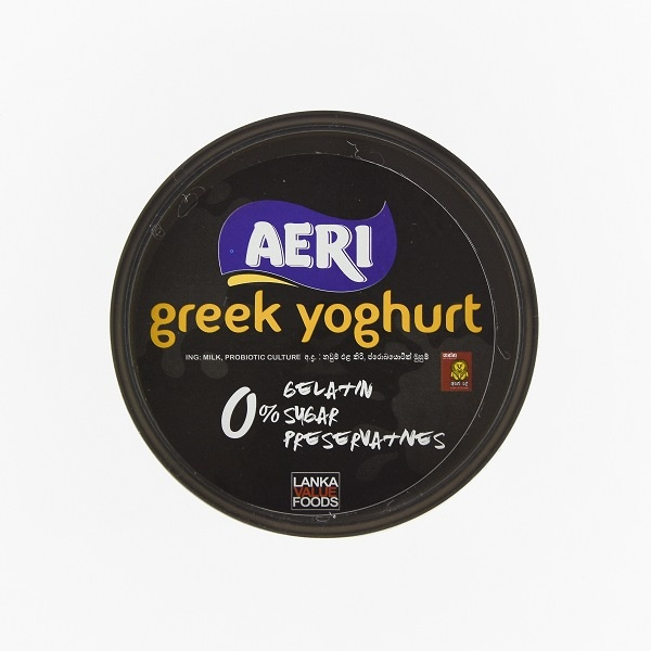 Aeri Yoghurt Vanilla Greek 500ml - AERI - Yogurt - in Sri Lanka