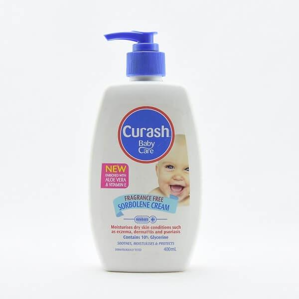 Curash Cream Sorbolene Fragrance Free 400ml - in Sri Lanka