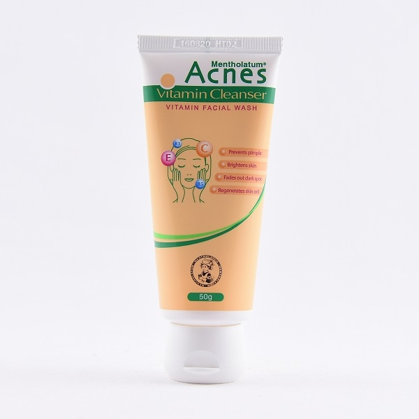 Acnes Face Cleanser Vitamin 50G - in Sri Lanka