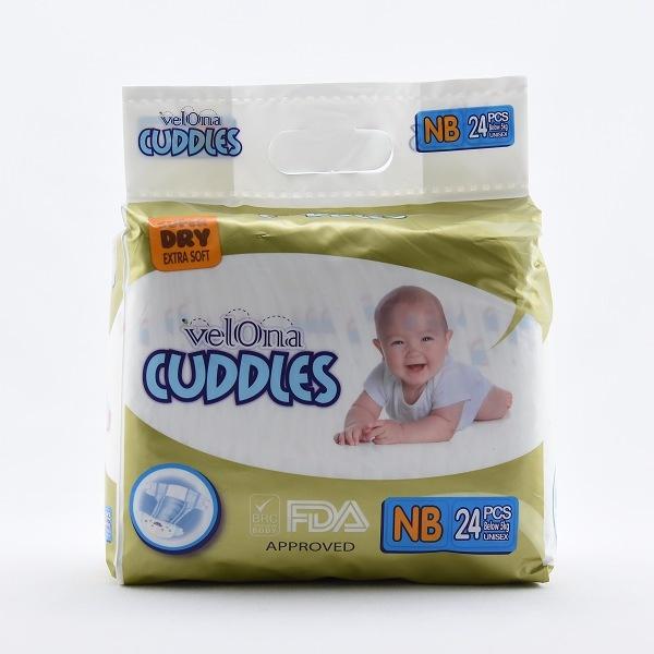 Velona Cuddles Baby Diapers New Born 24pcs - in Sri Lanka