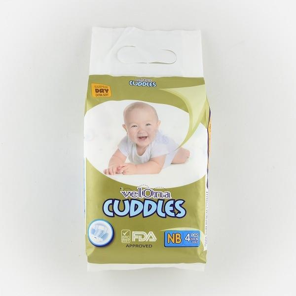Velona Cuddles Baby Diaper New Born 4pcs - in Sri Lanka