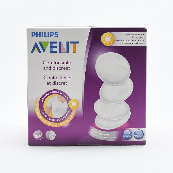 Philips Avent Breast Pads Disposable 30pcs - in Sri Lanka