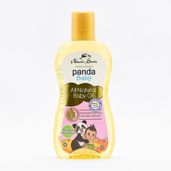 Panda Baby Hair Oil 100% All Natural 100ml - in Sri Lanka