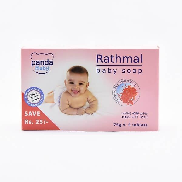 Panda Baby Soap Rathmal 75G - in Sri Lanka