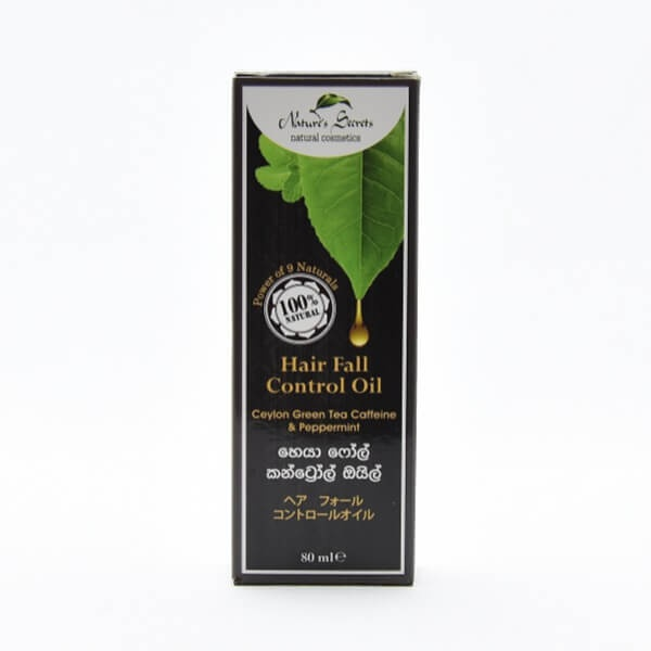 Nature's Secret Hair Oil Ceylon Green Tea Caffeine & Peppermint 80ml - in Sri Lanka