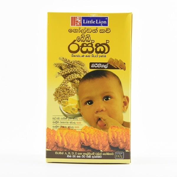 Little Lion Golden Cow Rusk Original 110g - in Sri Lanka