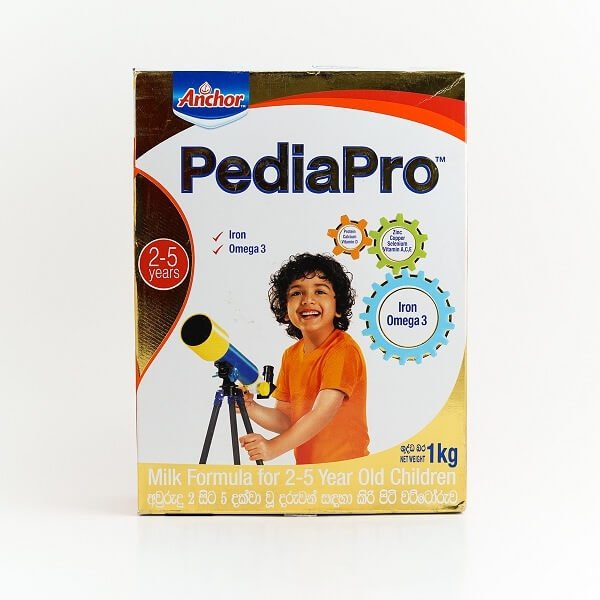Anchor Pediapro Milk Powder 2-5 1Kg - in Sri Lanka