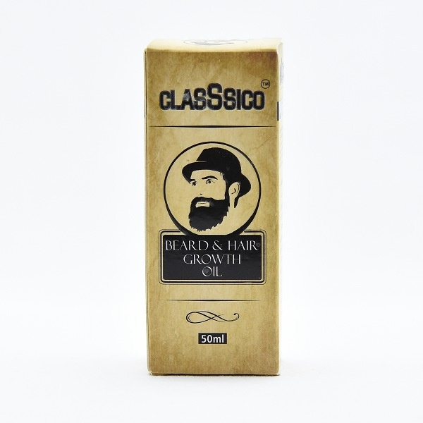 Classsico Beard & Hair Oil 50Ml - in Sri Lanka
