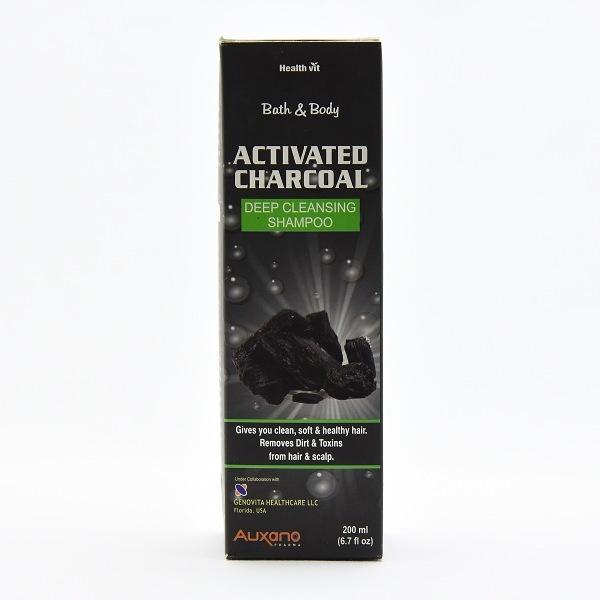 Auxano Shampoo Active Charcoal 200ml - in Sri Lanka