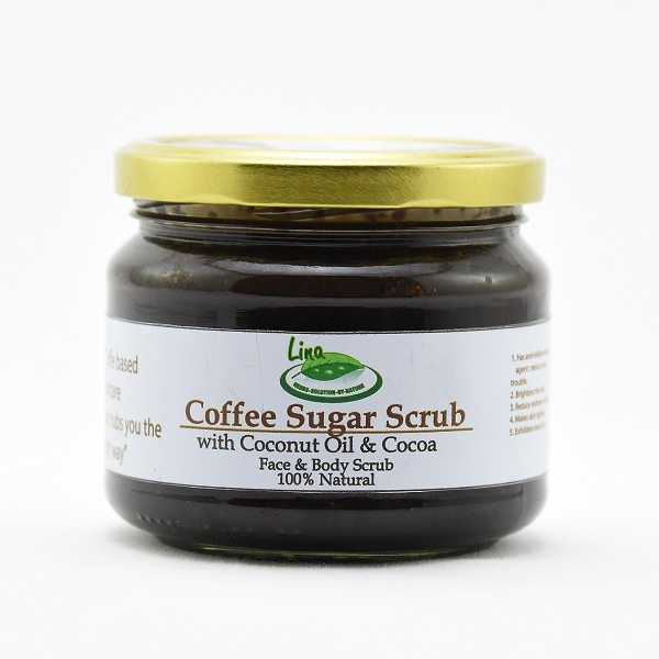 Lina Body Scrub Coffee 350G - in Sri Lanka