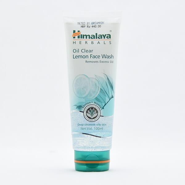 Himalaya Face Wash Oil Clear Lemon 100ml - in Sri Lanka