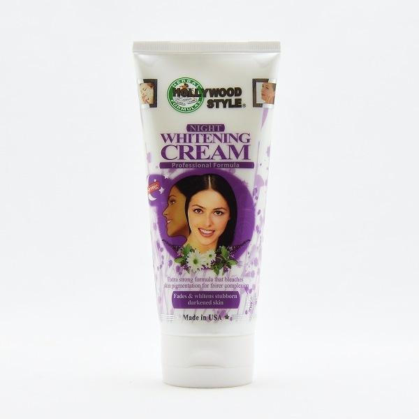 Hollywood Style Face Cream Night Whitening 150ml - in Sri Lanka