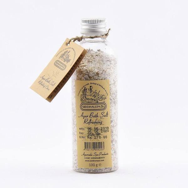 Siddhalepa Ayur Bath Salt Refreshing 100g - in Sri Lanka