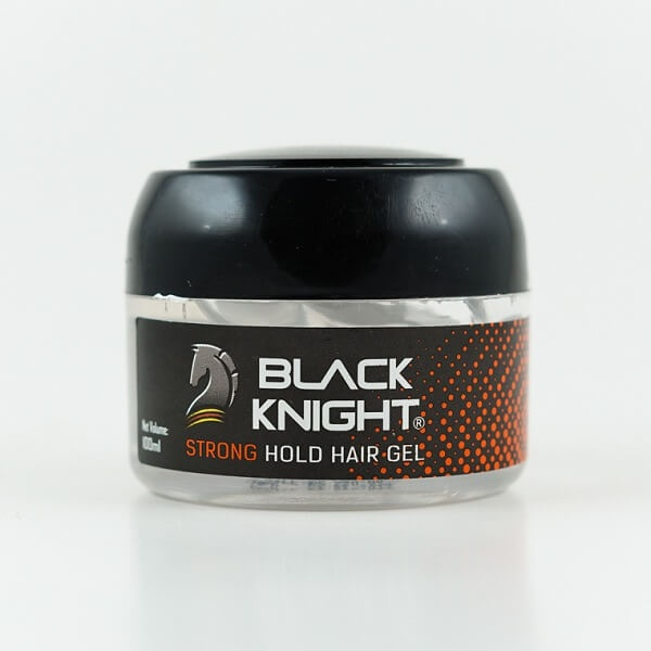 Black Knight Hair Gel Strong Hold 100ml - in Sri Lanka