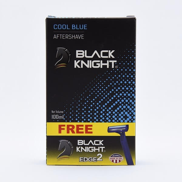 Black Knight Aftershave Cool Blue 100ml - in Sri Lanka