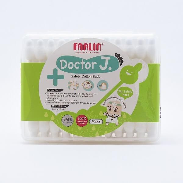 Farlin Doctor J Cotton Buds 60pcs - in Sri Lanka