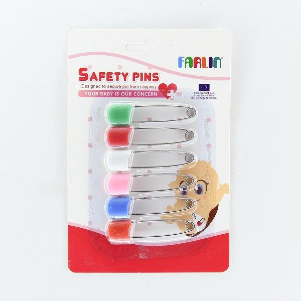 Farlin Safety Pins 6Pcs - in Sri Lanka