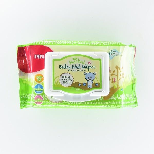 Farlin Baby Wet Wipes Herbal Skincare 85pcs - in Sri Lanka