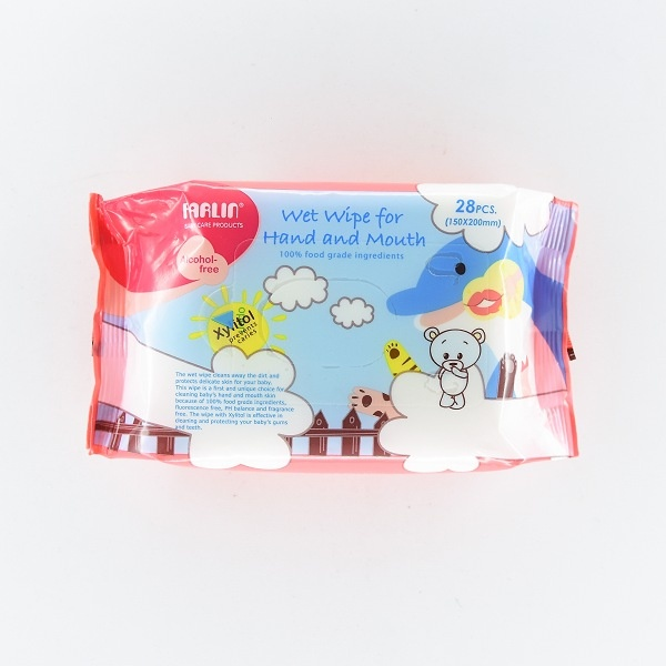 Farlin Baby Wet Wipes For Hand & Mouth 28pcs - in Sri Lanka