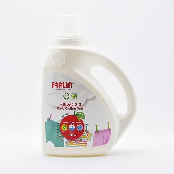 Farlin Baby Clothing Clean 2.0 Detergent 1000ml - in Sri Lanka