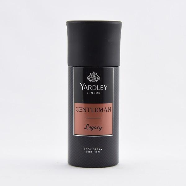 Yardley Body Spray Gentlemen Legacy 150ml - in Sri Lanka